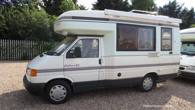 Auto Sleepers For Sale Uk: Used Auto-Sleepers Clubman VW For Sale